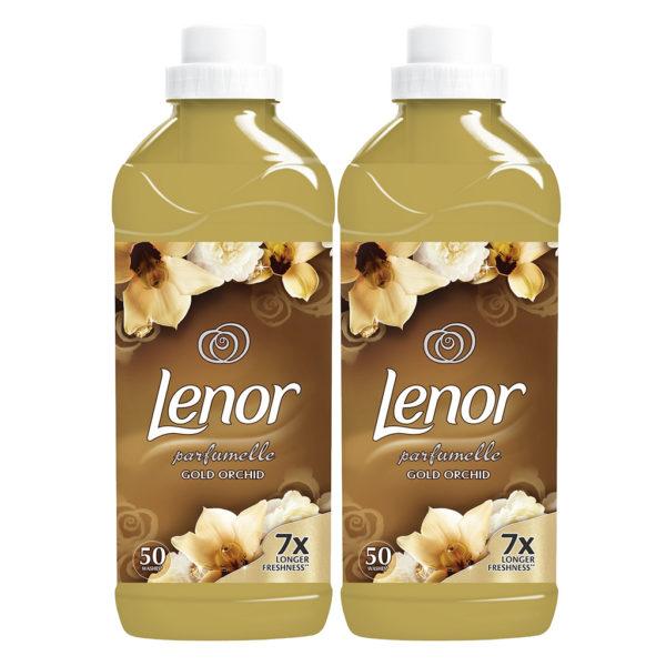 Lenor Gold Orchid Омекнувач за алишта 2×1,5л