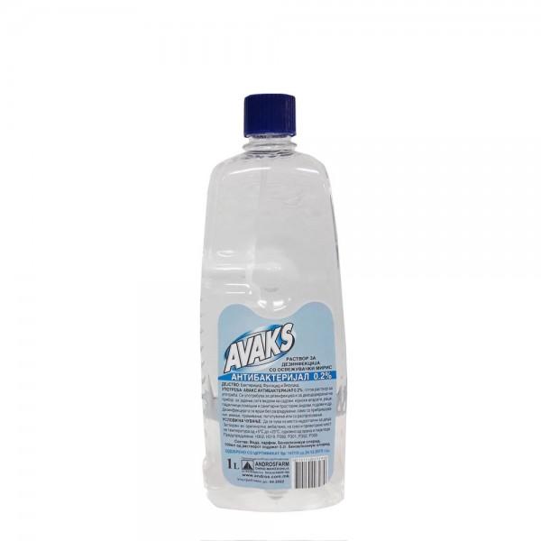 Авакс Антибактериски раствор 0,2% 1л