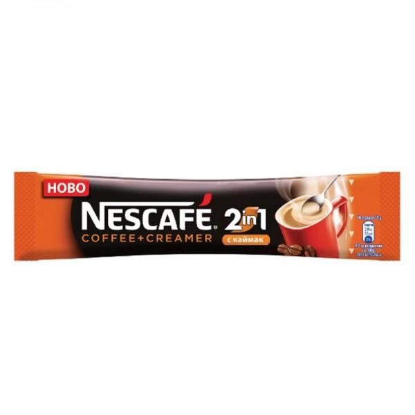 Nescafe 2 in 1 Coffee+Creamer инстант кафе во кесичка 8гр