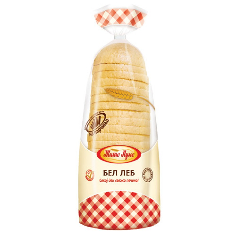 Жито Лукс Бел леб на парчиња 470гр