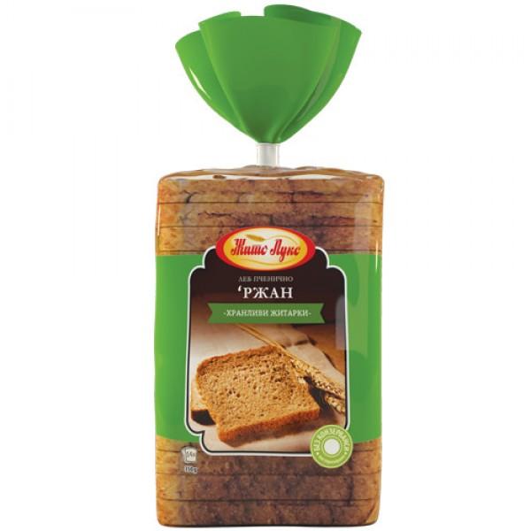 Жито Лукс Ржан тост леб 350гр