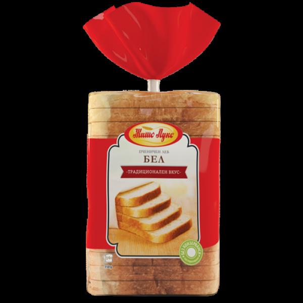 Жито Лукс  тост Бел леб 350гр