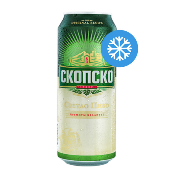 Скопско Пиво (лименка) 500мл (Изладено)