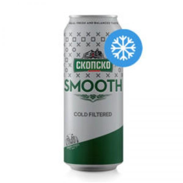 Скопско Smooth Пиво лименка 500мл (Изладено)