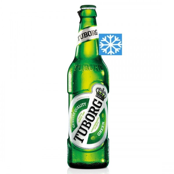 Tuborg Пиво (стакло) 500мл (Изладено)