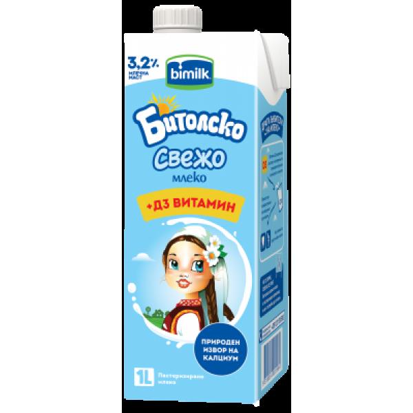Бимилк Битолско свежо млеко 1л