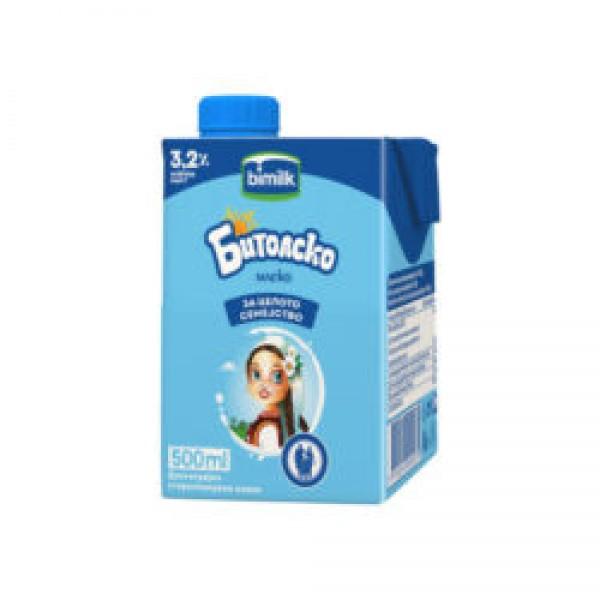 Бимилк Битолско млеко 3,2% 0,5л