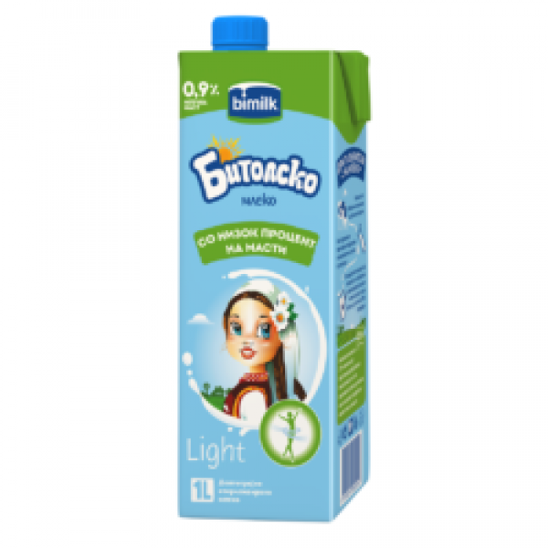 Бимилк Битолско млеко 0.9% 1л