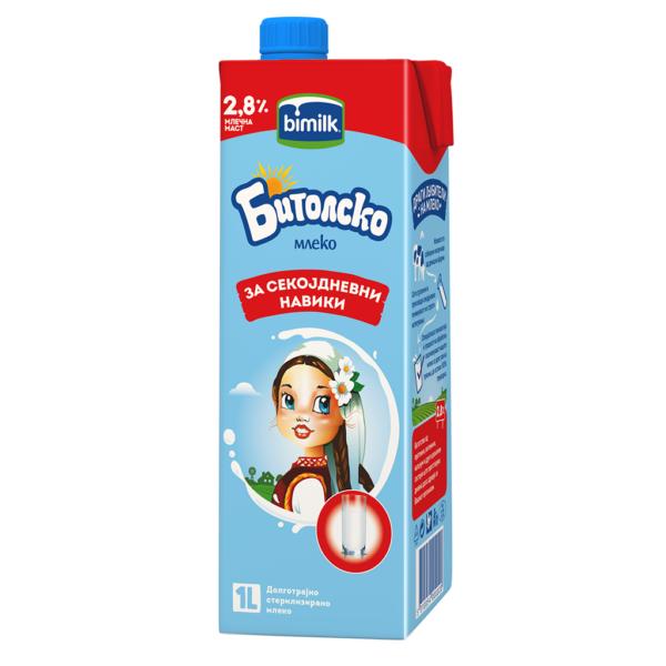 Бимилк Битолско млеко 2.8% 1л