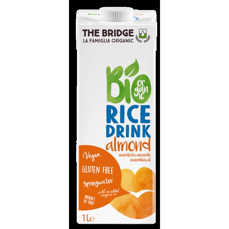 Bi Organic Rice Drink Almond Оризово Органско Млеко со Бадеми 1л