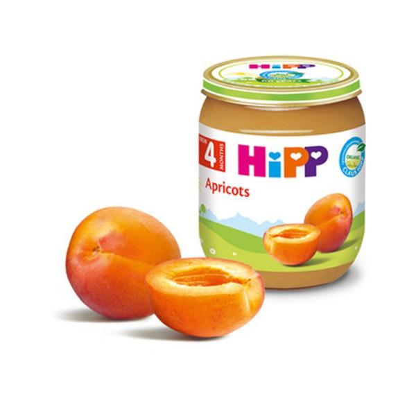HiPP Кашичка за бебиња со кајсија 190гр