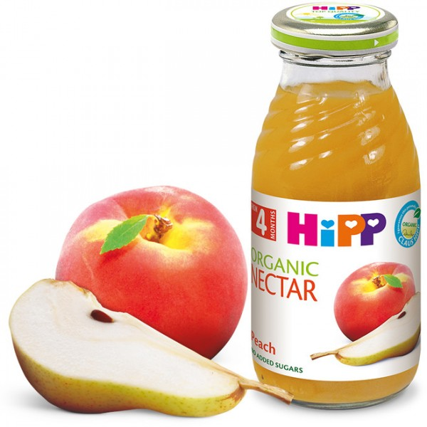 HiPP Сок од  праска и јаболко 200мл