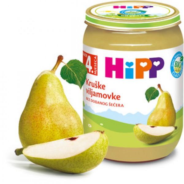 HIPP   Кашичка за бебиња со круша 190гр