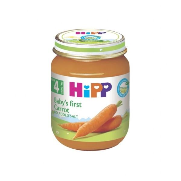 HIPP   Кашичка за бебиња со морков 125гр