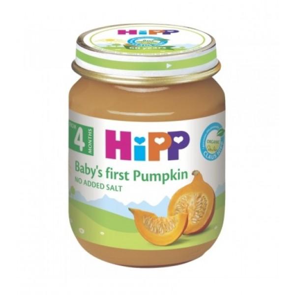HIPP   Кашичка за бебиња со тиква 125гр
